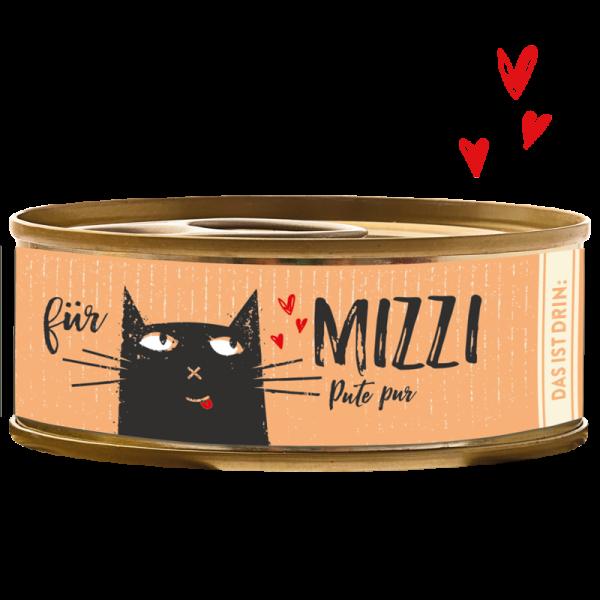 Katzendosenfutter mit Pute getreidefrei hoher Fleischanteil