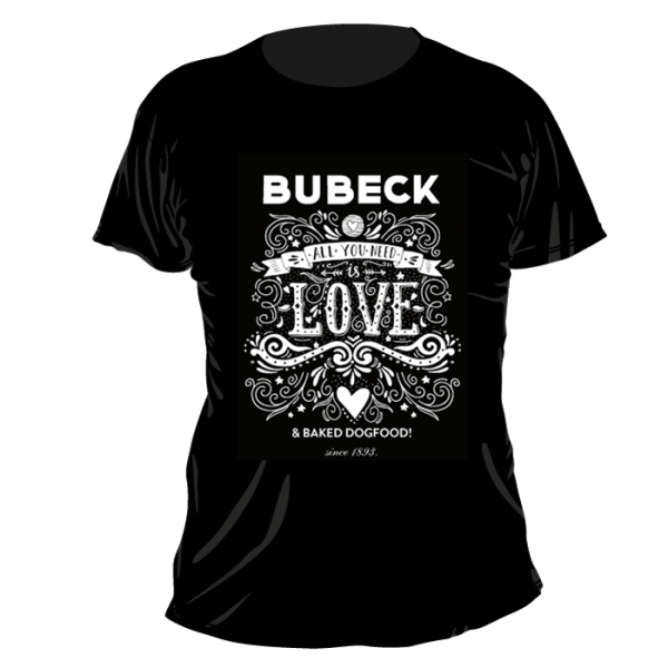 T-Shirt Bubeck All you need is love Herren