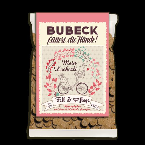 Fell und Pflege von Bubeck - getreidefreies Leckerli für Hunde