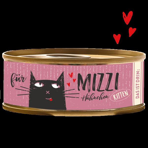 Kitten - Katze Nassfutter - Mizzi - Hühnchen - Bubeck - Dose 100g
