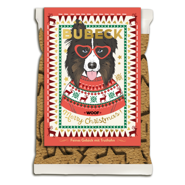 Bubeck - Weihnachtskeks von Bubeck - Edition 2019 - getreidefrei Stück