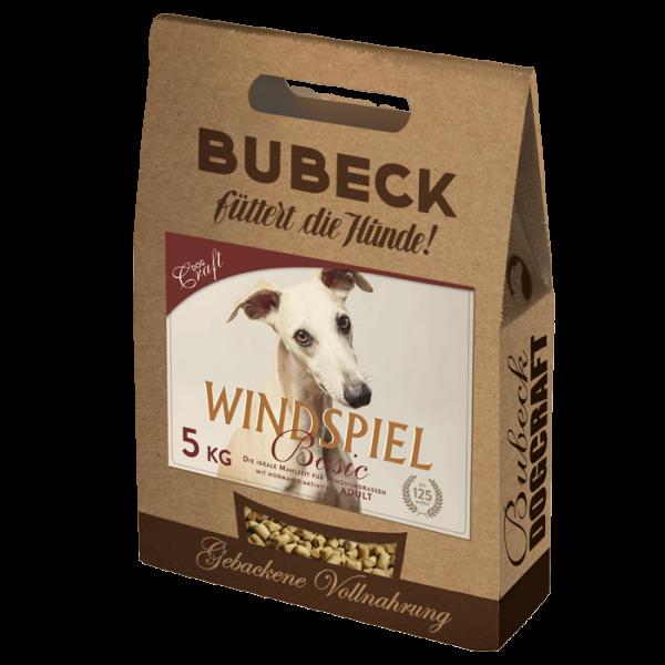 Trockenfutter - Windspiel - Bubeck - 6kg - Glutenfrei