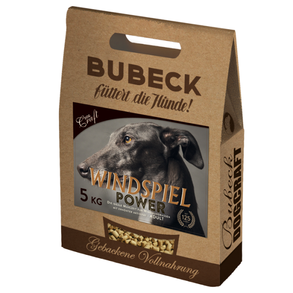 Bubeck - Power Trockenfutter für aktive Windhunde 6kg