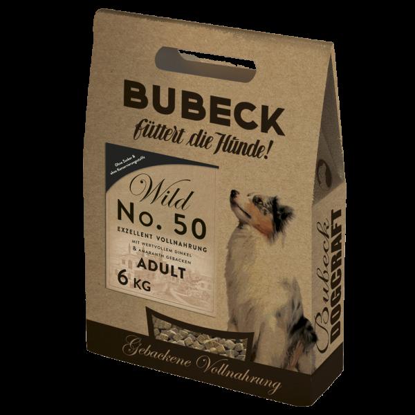 Bubeck - Trockenfutter - No. 50 Wildfleisch - weizenfrei