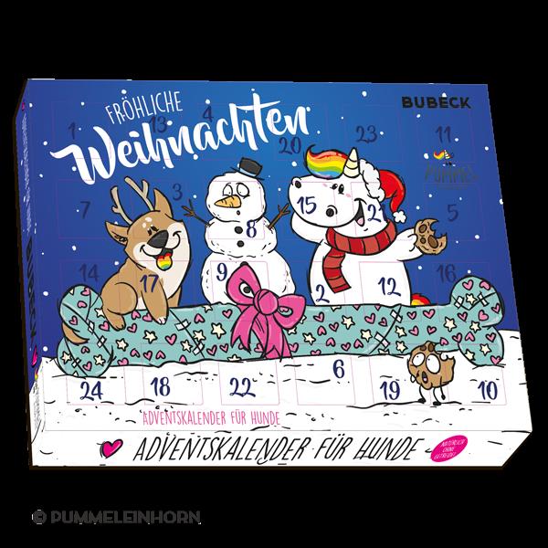 Bubeck - Pummeleinhorn Adventskalender 2018 - getreidefrei