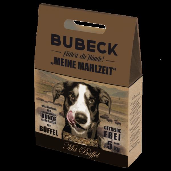 Trockenfutter Getreidefrei Büffel Hunde Bubeck Meine Mahlzeit Büffel