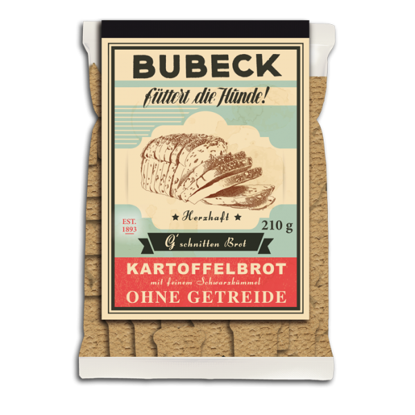 Bubeck - Hundekuchen - G´schnitten Brot - getreidefrei