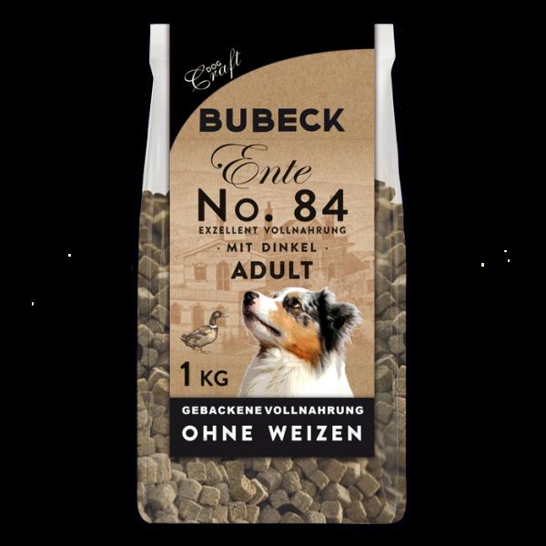 Trockenfutter Weizenfrei Single Meat Ente Hunde Bubeck No 84