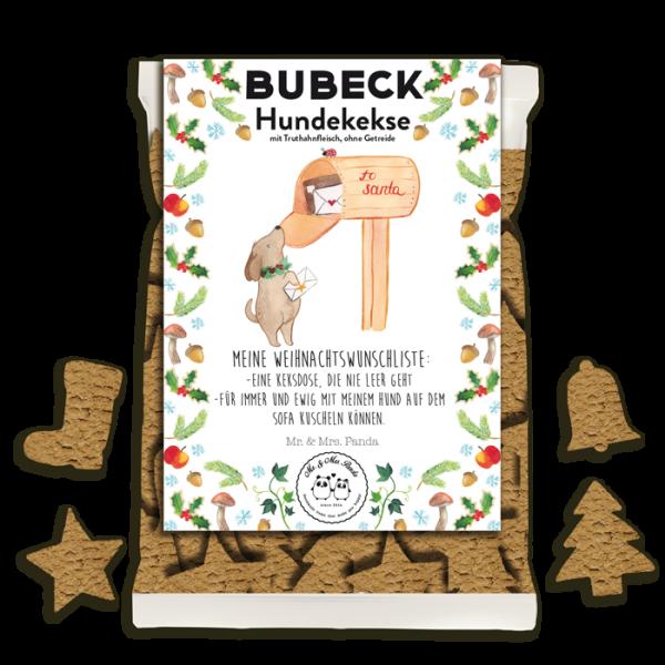 Bubeck - Mr. & Mrs. Panda Weihnachtskekse - getreidefrei - 210g Stück