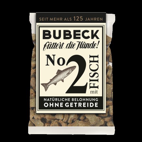 Bubeck - No. 2 mit Fisch - getreidefrei - Hundekuchen