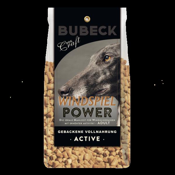Trockenfutter Lammfleisch Hunde Bubeck  Windspiel Power