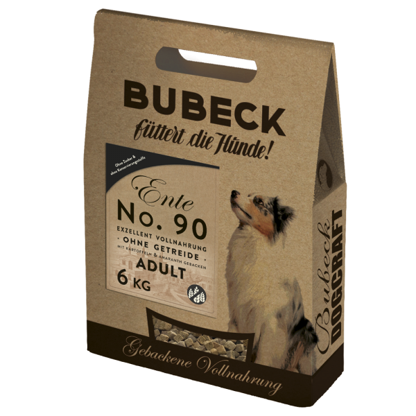 Bubeck - Trockenfutter - No. 90 Entenfleisch - getreidefrei