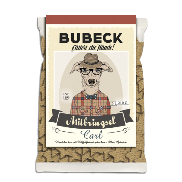 Bubeck - Leckerli - Vintage Edition - Mitbringsel Hundekuchen
