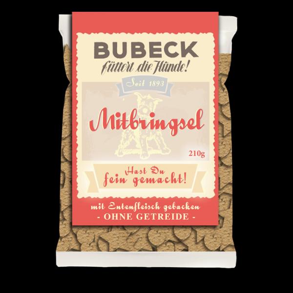gebackene Hundekuchen getreidefrei mit Ente fuer Hunde von Bubeck