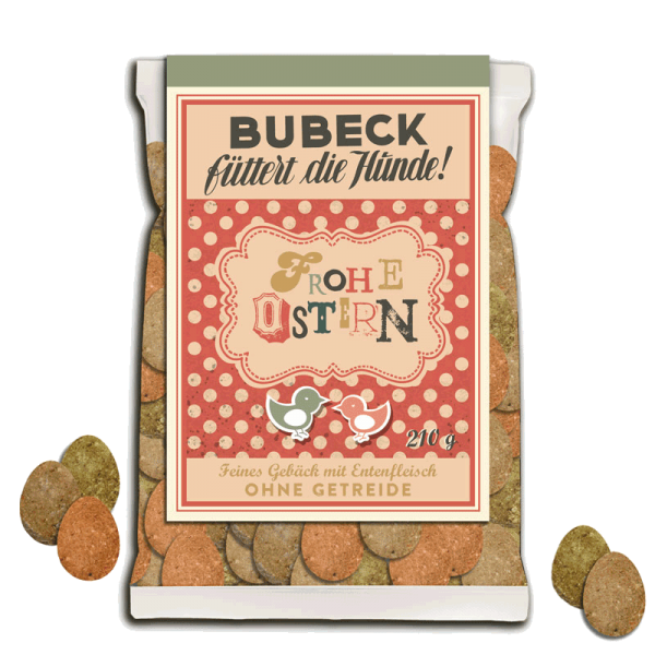 Bubeck Leckerli Osteraktion 210g 2016