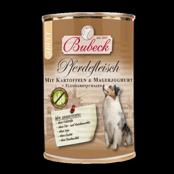 Bubeck - Nassfutter - Pferdefleisch mit Kartoffeln und Magerjoghurt