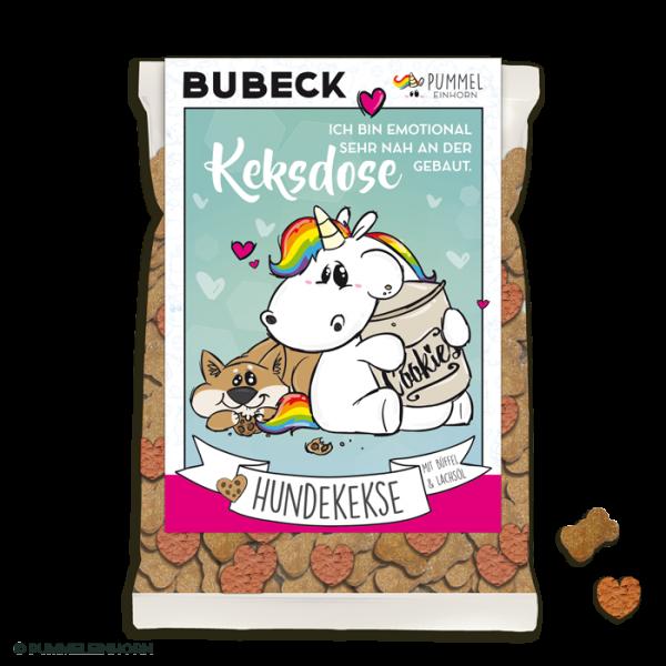 Pummel Einhorn - Hundekekse - Gelüste - Bubeck - getreidefrei - 210g