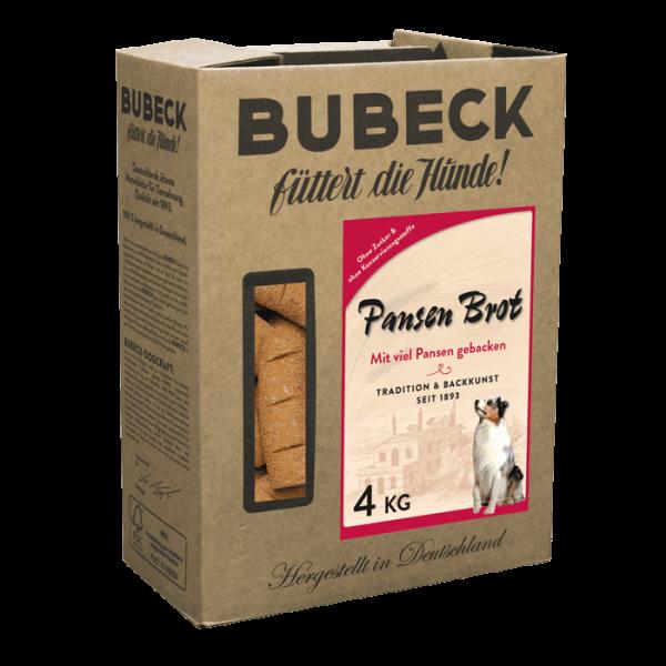 Hundekuchen gebacken Zahnreinigung mit Pansen und Weizenmehl fuer Hunde von Bubeck