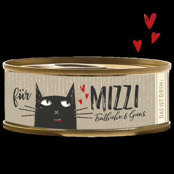 Katzendosenfutter mit Truthahn und Gans getreidefrei hoher Fleischanteil