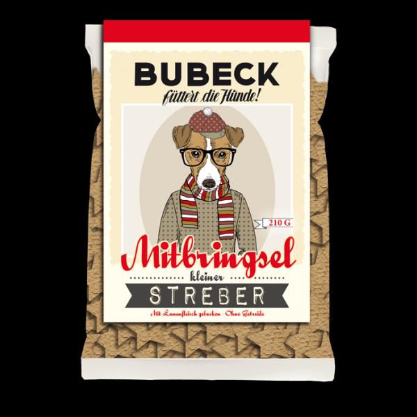 gebackene Hundekuchen getreidefrei mit Lamm fuer Hunde von Bubeck
