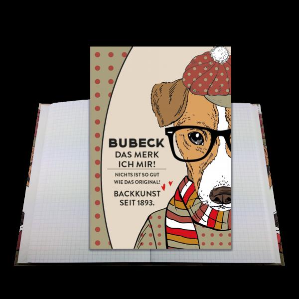 Bubeck - Notizbuch - der tägliche Begleiter für schnelle Notizen