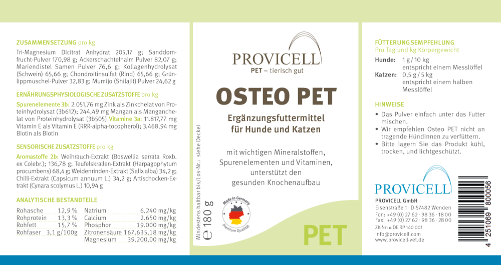 Provicell-Pet_Etikett_Osteo_PET-1